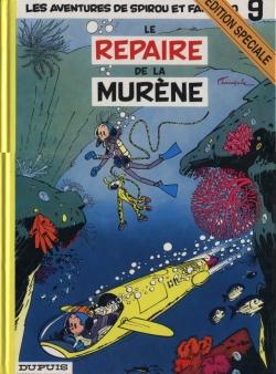 Couverture Spirou et Fantasio, tome 09 : Le Repaire de la murène