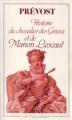 Couverture Histoire du chevalier Des Grieux et de Manon Lescaut / Manon Lescaut Editions Flammarion (GF) 1987