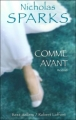 Couverture Comme avant Editions Robert Laffont (Best-sellers) 2005
