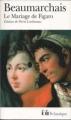 Couverture Le Mariage de Figaro Editions Folio  (Classique) 2009