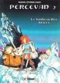 Couverture Percevan, tome 02 : Le tombeau des glaces Editions Glénat 1983