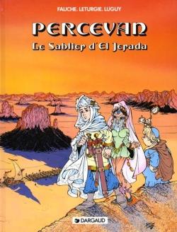 Couverture Percevan, tome 05 : Le Sablier d'El Jerada
