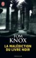 Couverture La Malédiction du livre noir Editions J'ai Lu (Thriller) 2012
