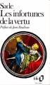 Couverture Les infortunes de la vertu Editions Folio  1985