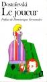 Couverture Le joueur Editions Folio  1984