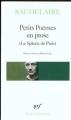 Couverture Le spleen de Paris / Petits poèmes en prose Editions Gallimard  (Poésie) 1973