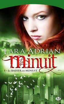 Couverture Minuit, tome 01 : Le baiser de minuit