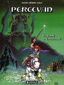 Couverture Percevan, tome 08 : La Table d'Emeraude