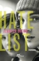 Couverture Hate list Editions Albin Michel (Jeunesse - Wiz) 2012