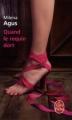 Couverture Quand le requin dort Editions Le Livre de Poche 2012