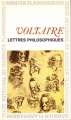 Couverture Lettres philosophiques Editions Garnier Flammarion 1964