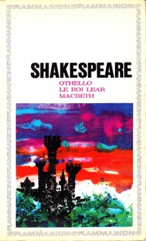 Couverture Othello, Macbeth, Le roi Lear