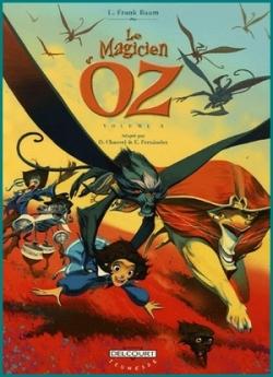 Couverture Le Magicien d'Oz (BD), tome 3