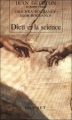 Couverture Dieu et la science Editions Grasset 1991