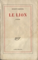 Couverture Le lion Editions Gallimard  (Blanche) 1959