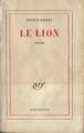 Couverture Le lion Editions Gallimard  (Blanche) 1959
