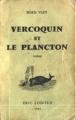 Couverture Vercoquin et le plancton Editions Éric Losfeld 1965