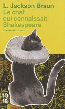 Couverture Le chat qui connaissait Shakespeare