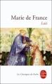 Couverture Lais / Les Lais Editions Le Livre de Poche (Les Classiques de Poche) 1998