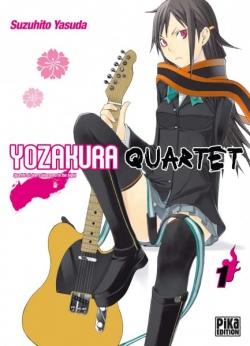 Couverture Yozakura Quartet, tome 01