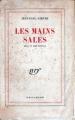 Couverture Les mains sales Editions Gallimard  (Blanche) 1948