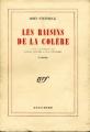 Couverture Les raisins de la colère Editions Gallimard  (Blanche) 1948
