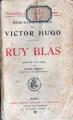 Couverture Ruy Blas Editions Paul Ollendorff 1910