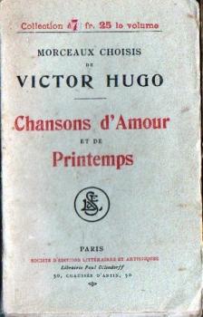 Couverture Chansons d'Amour et de Printemps