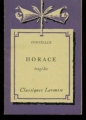Couverture Horace Editions Larousse (Classiques) 1960