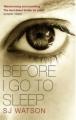 Couverture Avant d'aller dormir Editions Black Swan  2012