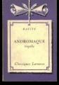 Couverture Andromaque Editions Larousse (Classiques) 1963