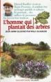 Couverture L'homme qui plantait des arbres Editions Folio  (Cadet rouge) 1990