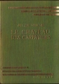 Couverture Le château des Carpathes Editions Hachette (Bibliothèque Verte) 1952