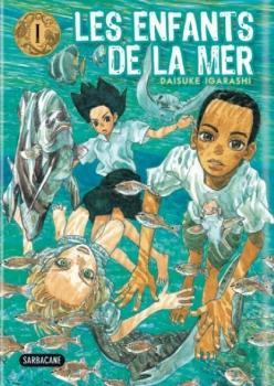 Couverture Les enfants de la mer, tome 1