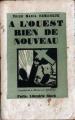 Couverture A l'ouest, rien de nouveau Editions Stock 1929