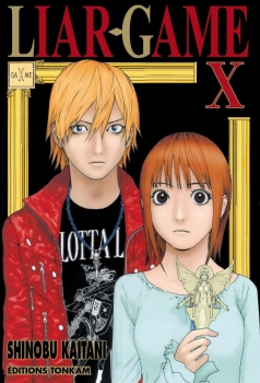 Couverture Liar game, tome 10