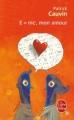 Couverture E=mc2, mon amour Editions Le Livre de Poche 1983