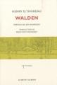 Couverture Walden ou la vie dans les bois / Walden Editions Le mot et le reste 2010