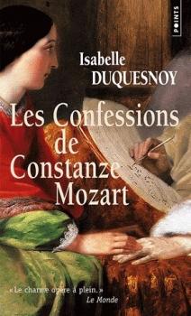 Couverture Les confessions de Constanze Mozart