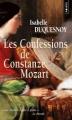 Couverture Les confessions de Constanze Mozart Editions Points 2012