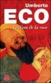 Couverture Le nom de la rose Editions Le Livre de Poche 1990