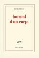 Couverture Journal d'un corps Editions Gallimard  (Blanche) 2012