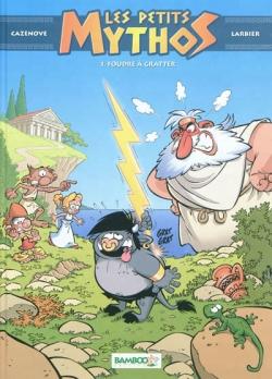 Couverture Les petits Mythos, tome 1 : Foudre à gratter