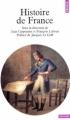 Couverture Histoire de France Editions Points (Histoire) 1989