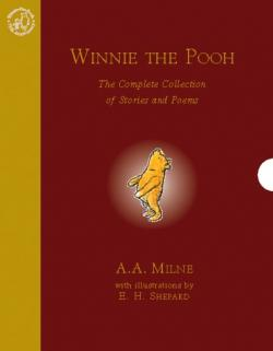 Couverture Winnie the Pooh: The Complete Collection of Stories and Poems