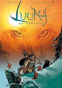 Couverture Luuna, tome 2 : Le Crépuscule du Lynx