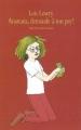 Couverture Anastasia, demande à ton psy ! Editions L'école des loisirs (Neuf) 1991