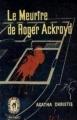 Couverture Le meurtre de Roger Ackroyd Editions Le Livre de Poche 1960