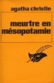 Couverture Meurtre en Mésopotamie Editions Librairie des  Champs-Elysées  (Le masque) 1940