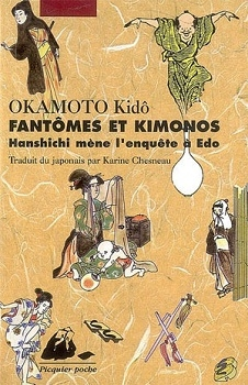 Couverture Hanshichi mène l'enquête à Edo : Fantômes et kimonos